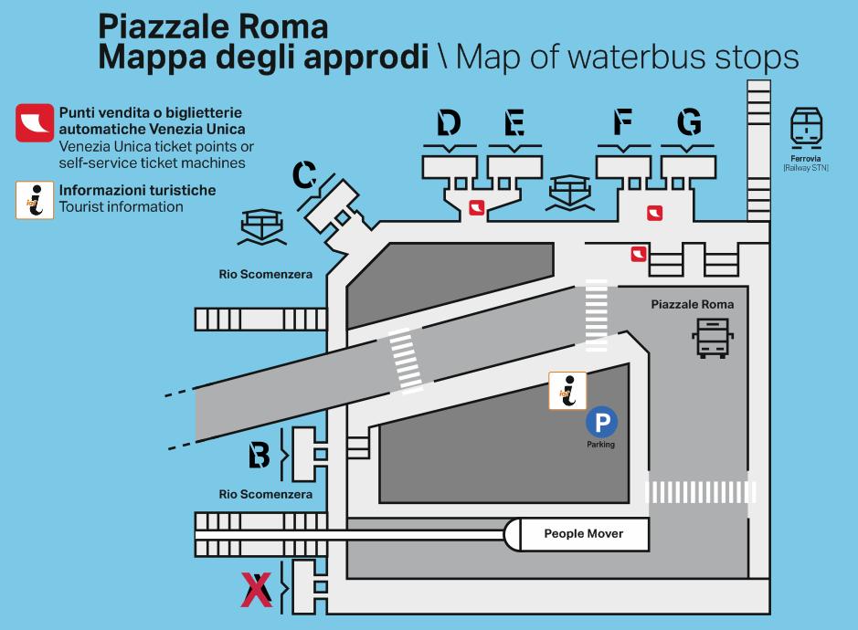 Schema Piazzale Roma